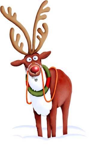 Les Renne Du Pere Noel.Les Rennes Du Père Noël Santa Claus Reindeers